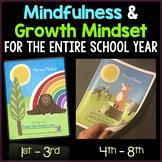 Growth Mindset Activities and Mindfulness Journal Bundle Grades 1-8