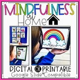 Digital SEL Mindfulness at Home | for Distance Learning with Google Slides