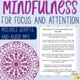Mindfulness Focus and Attention Guided Meditations for Focus