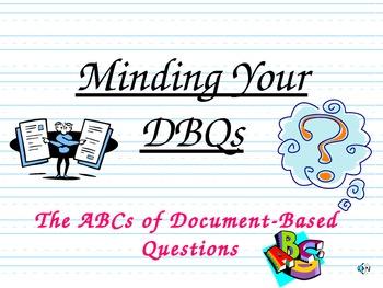 Minding Your DBQs