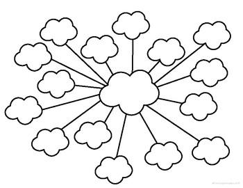 Mindmap worksheets freebie