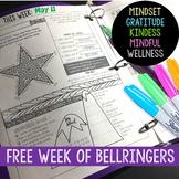 Mindset Bell Ringer Journal FREE WEEK