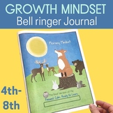 Growth Mindset & SEL Daily Check in Journal with Distance