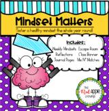 Mindset Matters: A Growth Mindset Bundle  *Unit, Posters, Escape Room & MORE*