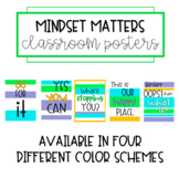 Mindset Matters Classroom Posters