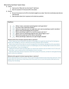 Mindset Monday (Set 2) - Growth Mindset Starters/Warmups for Middle/High School
