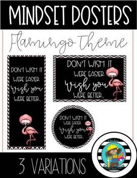 Mindset Posters-Flamingo Theme