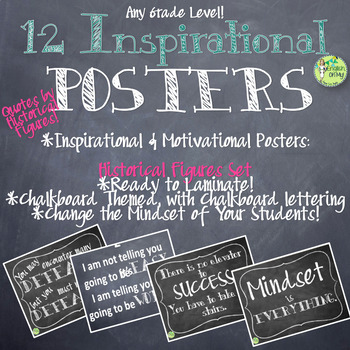 Posters-Inspirational, Motivation Quotations