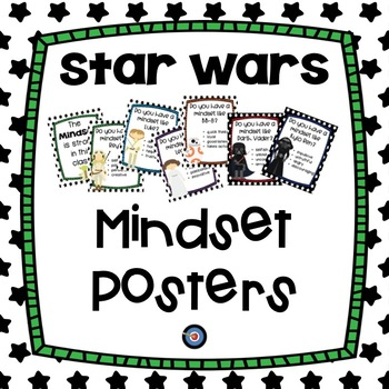 Mindset Posters Star Wars Themed