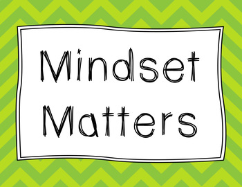 Mindset Posters on Brights
