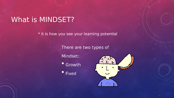 Mindset Powerpoint for Students