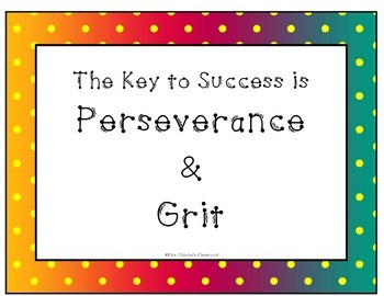 Mindset:  The key to Success is Perseverance and Grit
