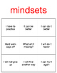 Mindsets BINGO game- 20 pages, ready to use. #counselorsback4school