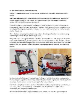 Mindstorms Robotics EV3 Brain Cradle