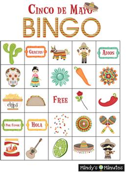 Mindy's Minutes Cinco de Mayo with Bingo