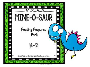 Mine-O-Saur Reading Response K-2
