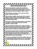 French Immersion Short Story: Mine de Rien retourne à l'école