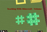 Minecraft 5th Grade Volume Project