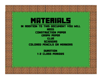 Minecraft Area Math