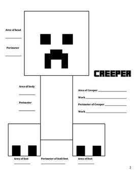 Minecraft Area & Perimeter