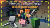 Minecraft Area and Perimeter Project Based Learning 4.MD.3