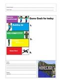 Minecraft Behavior Color Chart