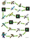 Minecraft Positive Behaviour Chart