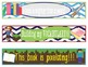 Minecraft Bookmarks, Shelf Markers or Desk Name Plates - EDITABLE