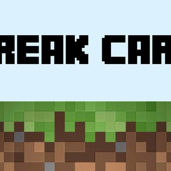 Minecraft Break Card
