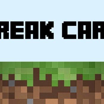 Minecraft Break Card