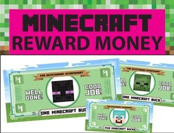 Minecraft Reward money for good behavior