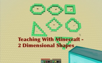 Minecraft Build on two-dimensional figures (5GB3/4)