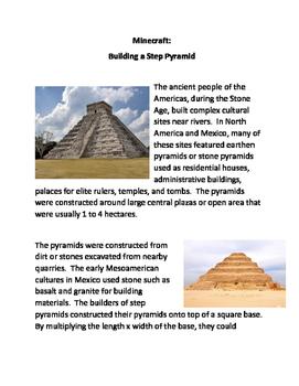 Minecraft: Building A Step Pyramid