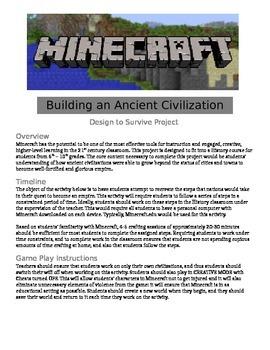Minecraft - Building an Ancient Civilization