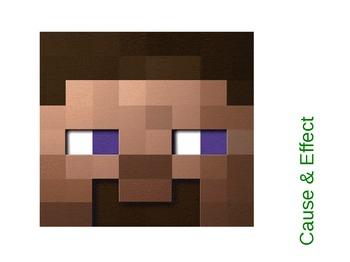 Minecraft Cause & Effect Powerpoint