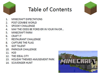 Minecraft Challenges - 14 Fun and Exciting Challenges