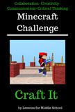 Minecraft Challenges - Craft It