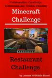 Minecraft Challenges - Restaurant Challenge