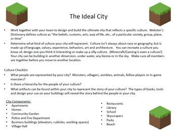 Minecraft Challenges - Scavenger Hunt