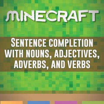 Minecraft Character Sentences