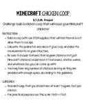 Minecraft Chicken Coop STEM Activity