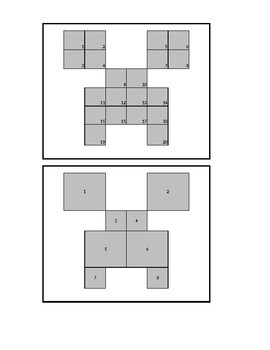 Minecraft Coloring Chart