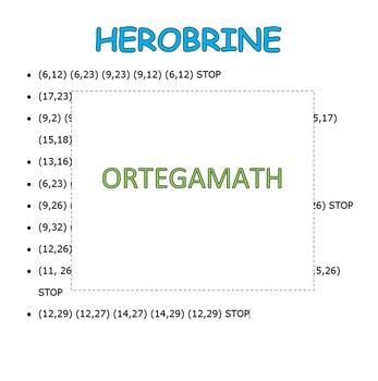 Coordinate Pictures Minecraft Herobrine