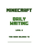 Minecraft Daily Handwriting Practice & Writing Lessons (includes 100+ lessons)