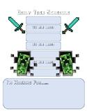 Minecraft Daily Task Schedule