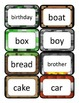 Minecraft Dolch Word Cards: Nouns