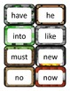 Minecraft Dolch Word Cards: Primer