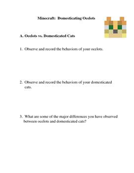 Minecraft: Domesticating Ocelots