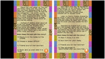 #HappyNewYear Minecraft Theme Task Cards -Answer Key & More Included - CCSS