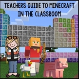 Teacher Guide to Minecraft for Education!! Bundle